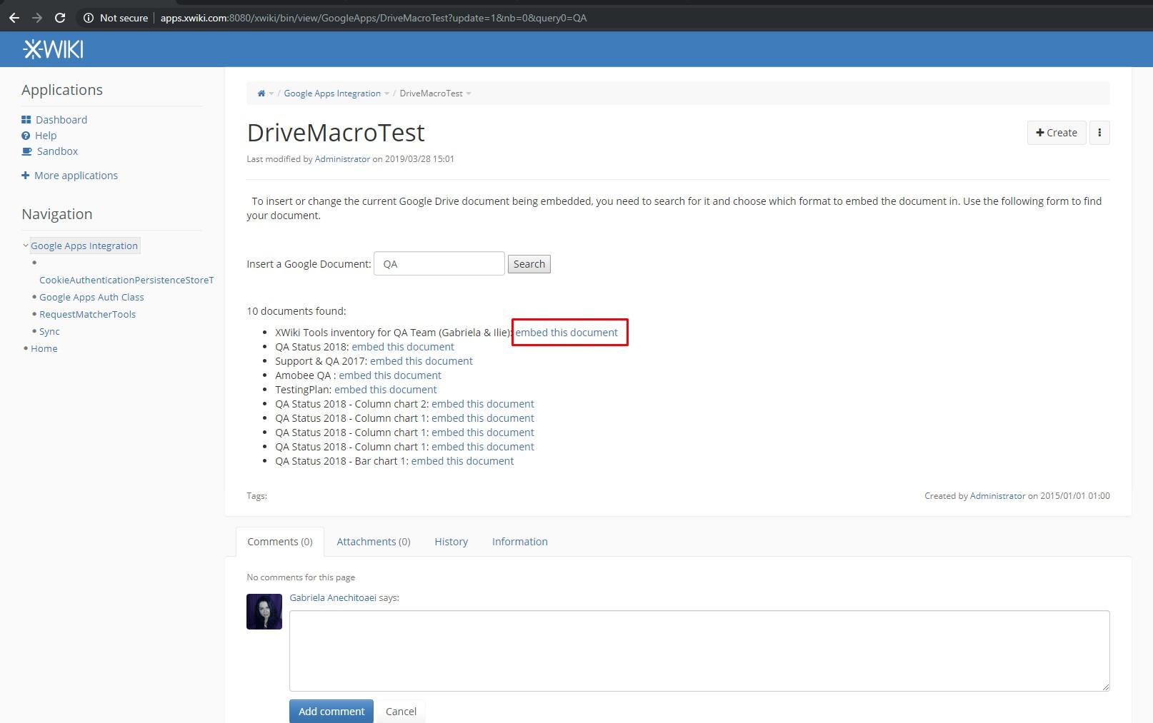 ClickingOnDriveMacroTest