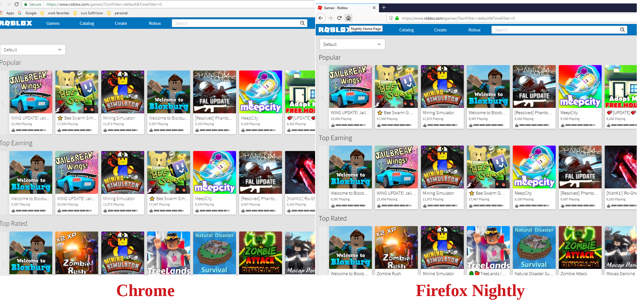 web roblox com - site is not usable · Issue #17712