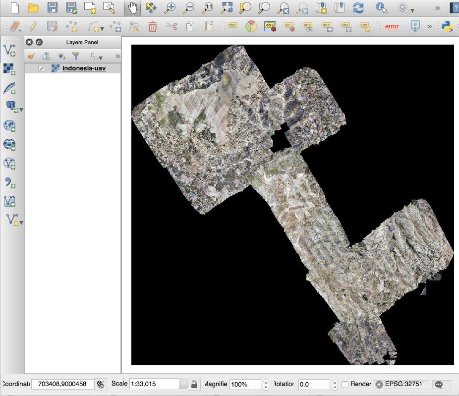 Tutorial: QGIS + Cloud Optimized GeoTIFF