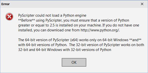 pyscripter download windows 7 64 bit
