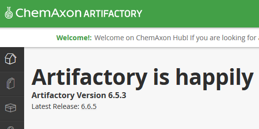 Artifactory npm fails with minimum required version message