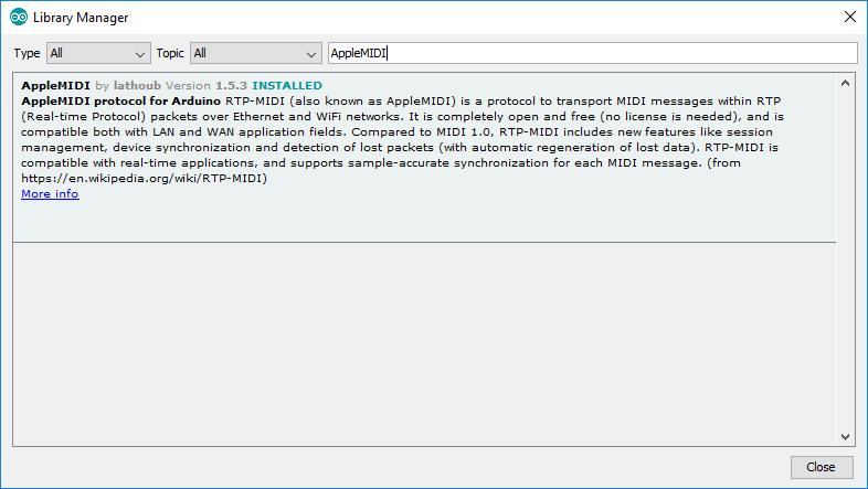 GitHub - lathoub/Arduino-AppleMIDI-Library: Send and receive MIDI