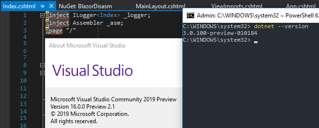 Support for Visual Studio 2019 · Issue #5669 · aspnet