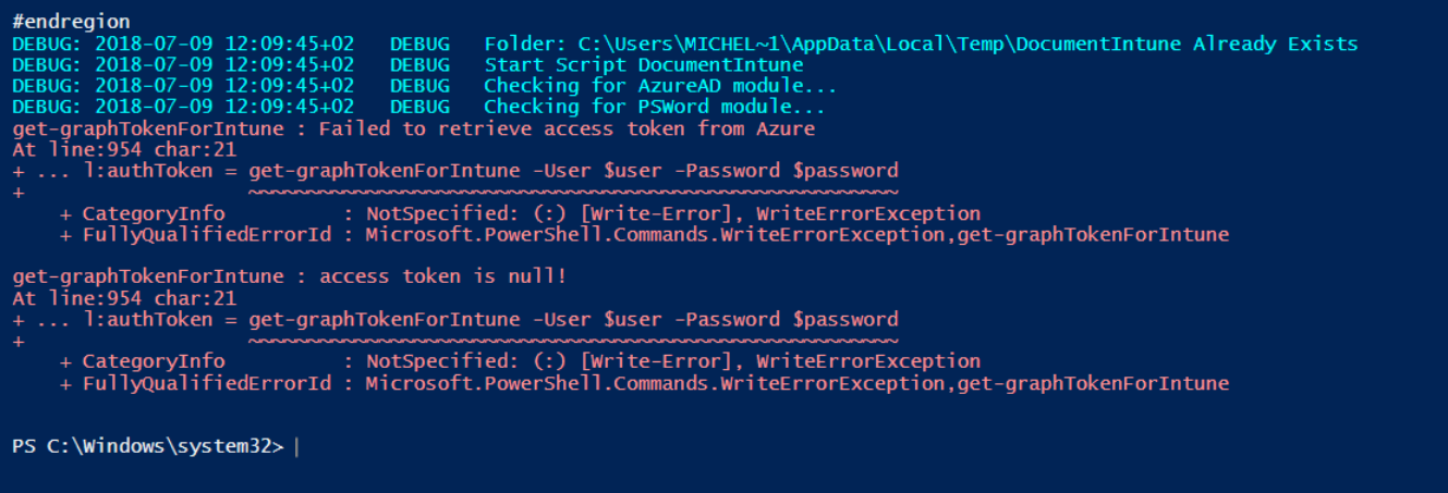 Failed to retrieve access token from Azure · Issue #7