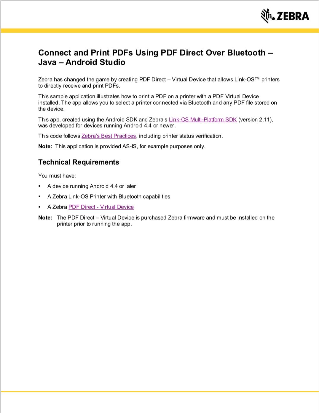 GitHub - ZebraISV/LinkOS-Android-Samples-PDFPrint: An app