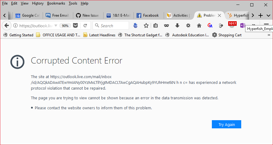Corrupted content error · Issue #694 · MrAlex94/Waterfox · GitHub