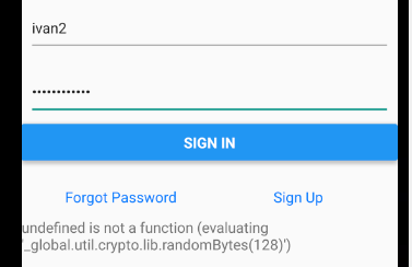 withAuthenticator throwing randomBytes is not a function