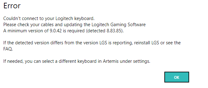 Artemis not detecting right version of LGS · Issue #456 · SpoinkyNL