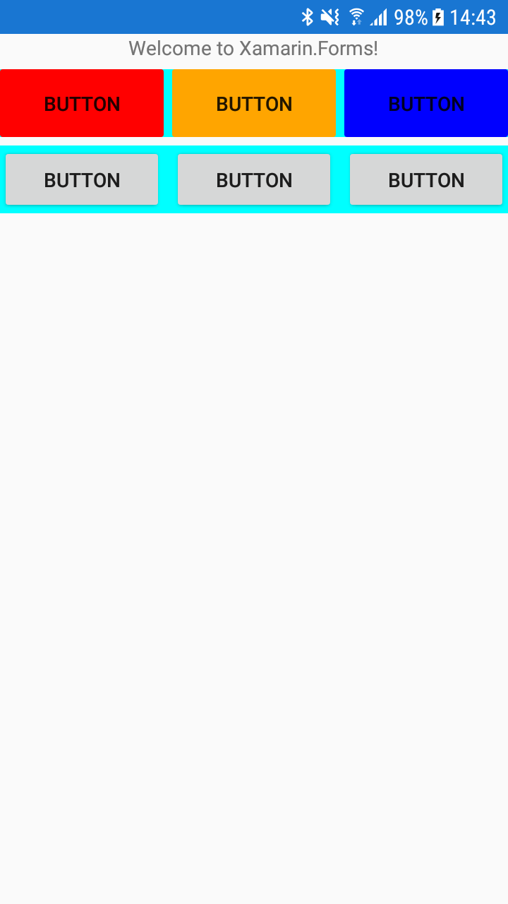 Button with background color is incorrect rendered on Android