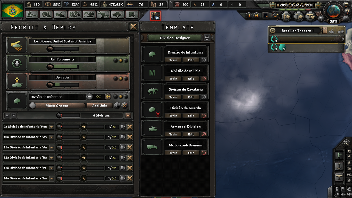 None of my soldiers are being equipped and I have way more than