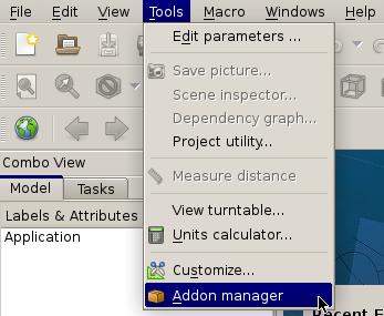 freecad-0.17-addon_manager-screenshot