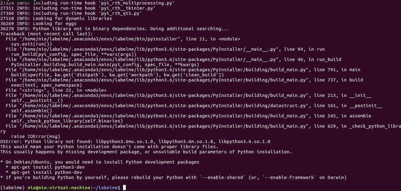 Conda install python-devel | Ensure you have your Python