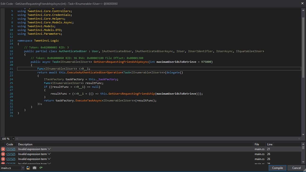 Compile mark up error > Compiler Error CS1525 · Issue #891