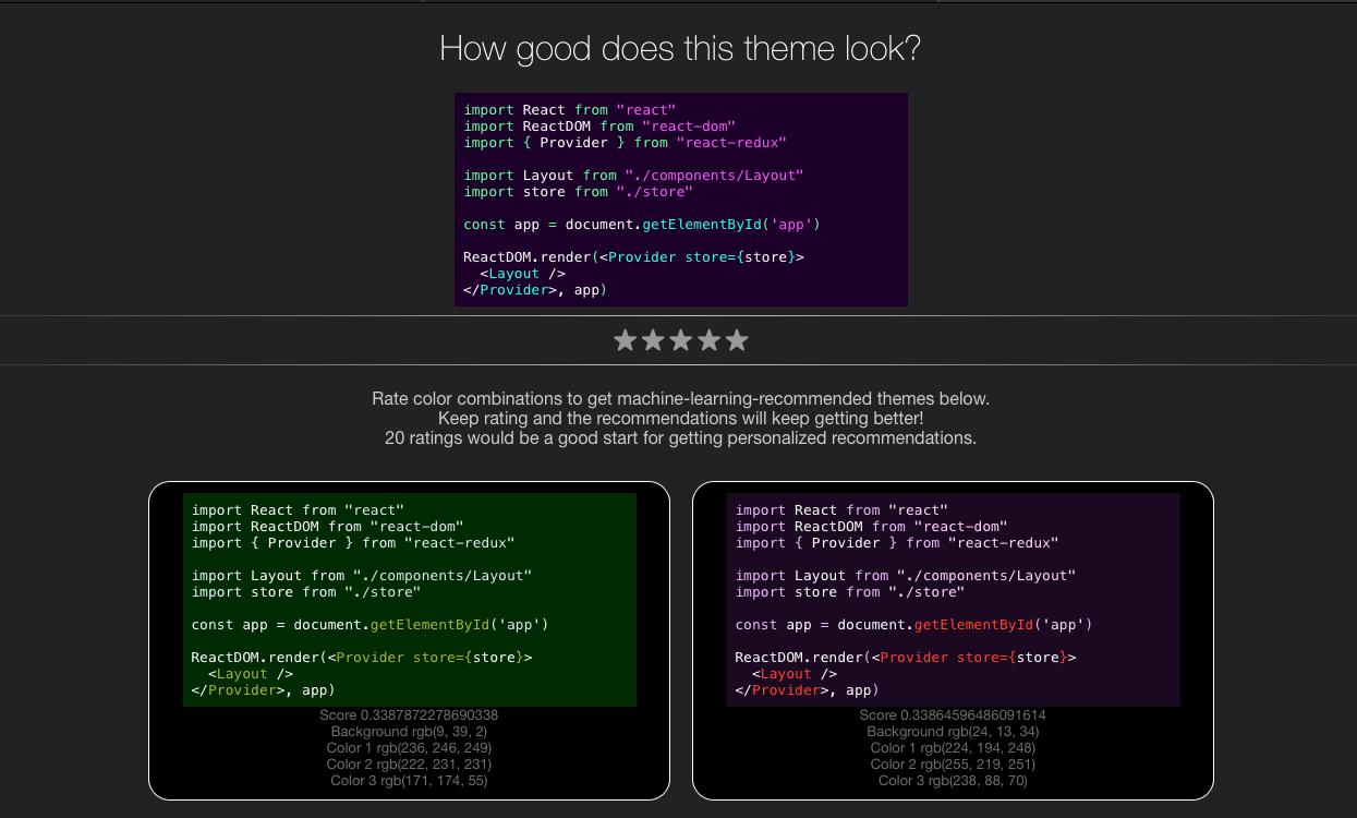GitHub - Pradyuman7/Theme-Recommender: Theme ...