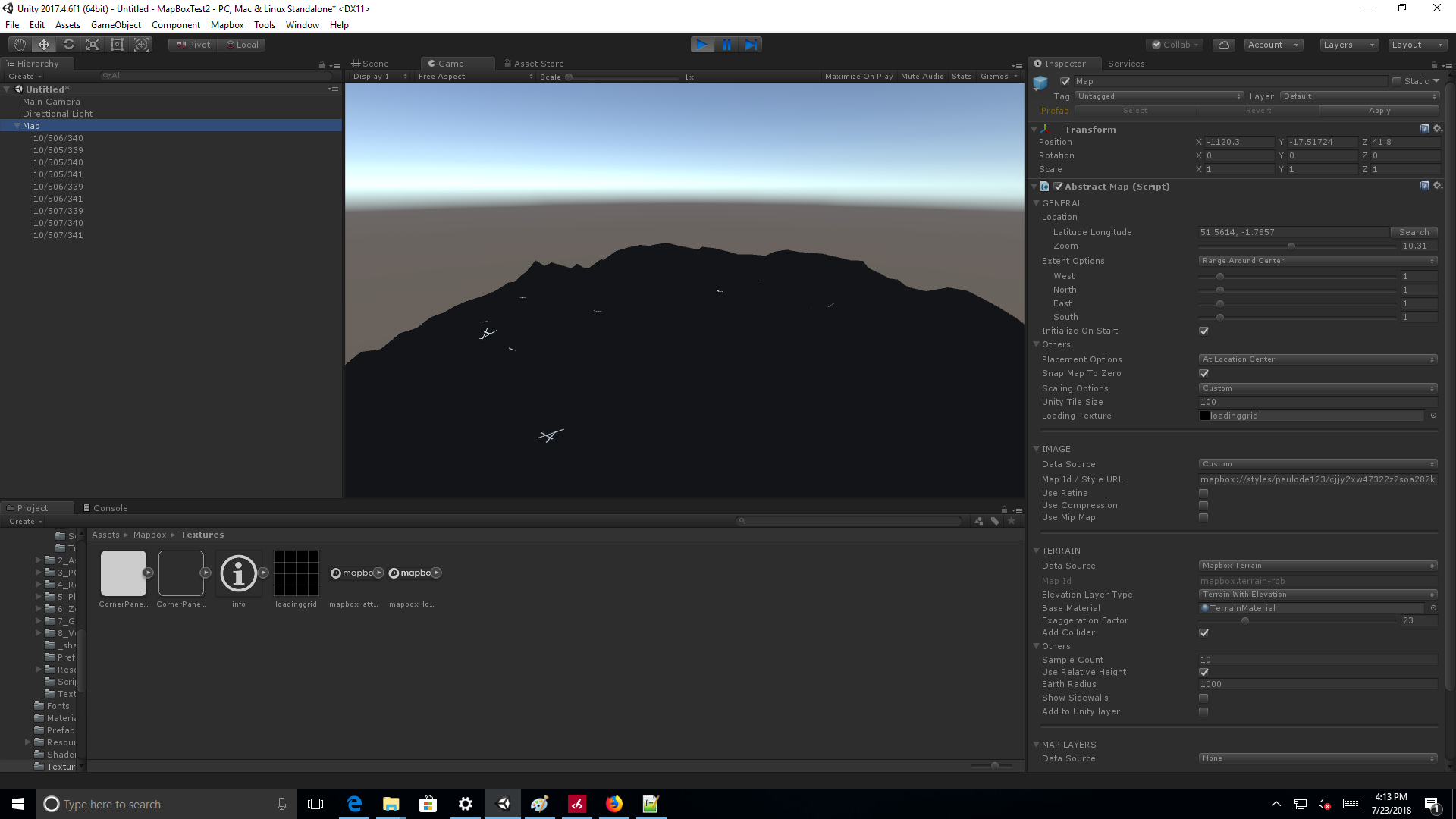 Custom Style loads up black in Unity · Issue #918 · mapbox