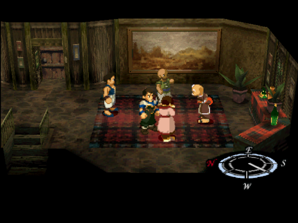 OpenGL/Upscaled Software] Xenogears - some sprites are
