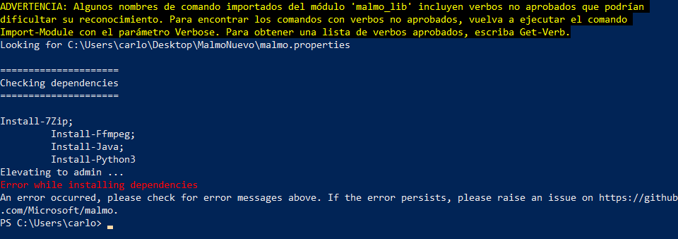 Can't run Python Agent: ImportError: DLL load failed · Issue #736