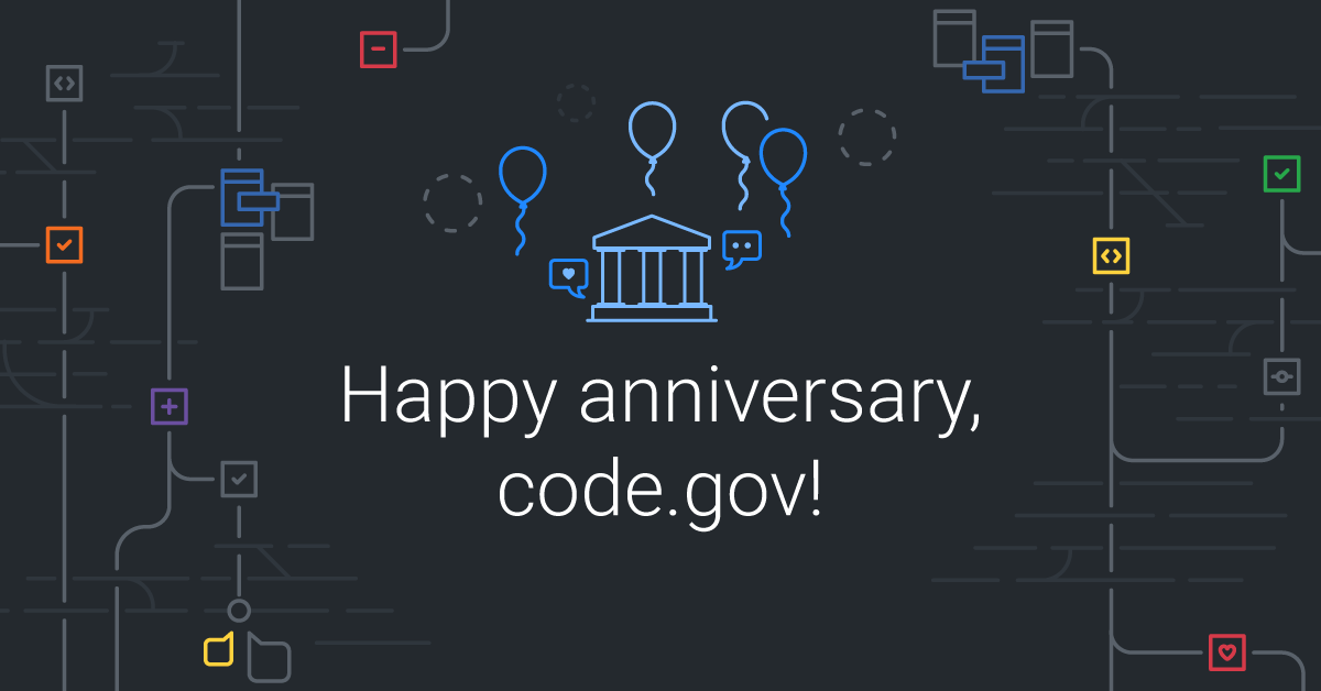 Happy birthday, Code.gov!