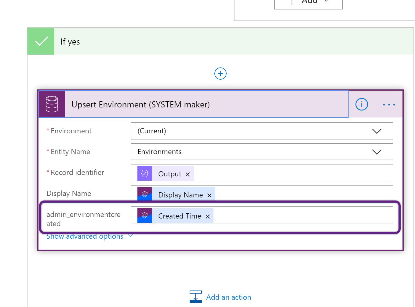 CoE Starter Kit - Admin | Sync Template Flow - invalid