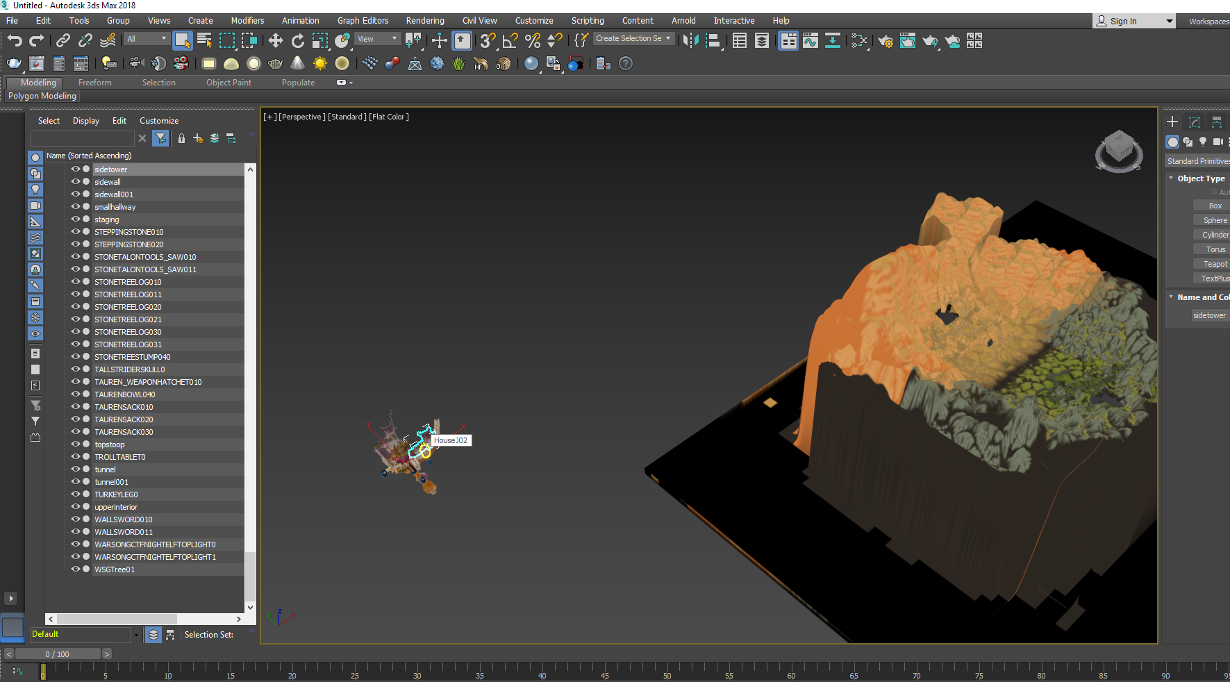 3ds Max import - wrong position WMO and ADT · Issue #13