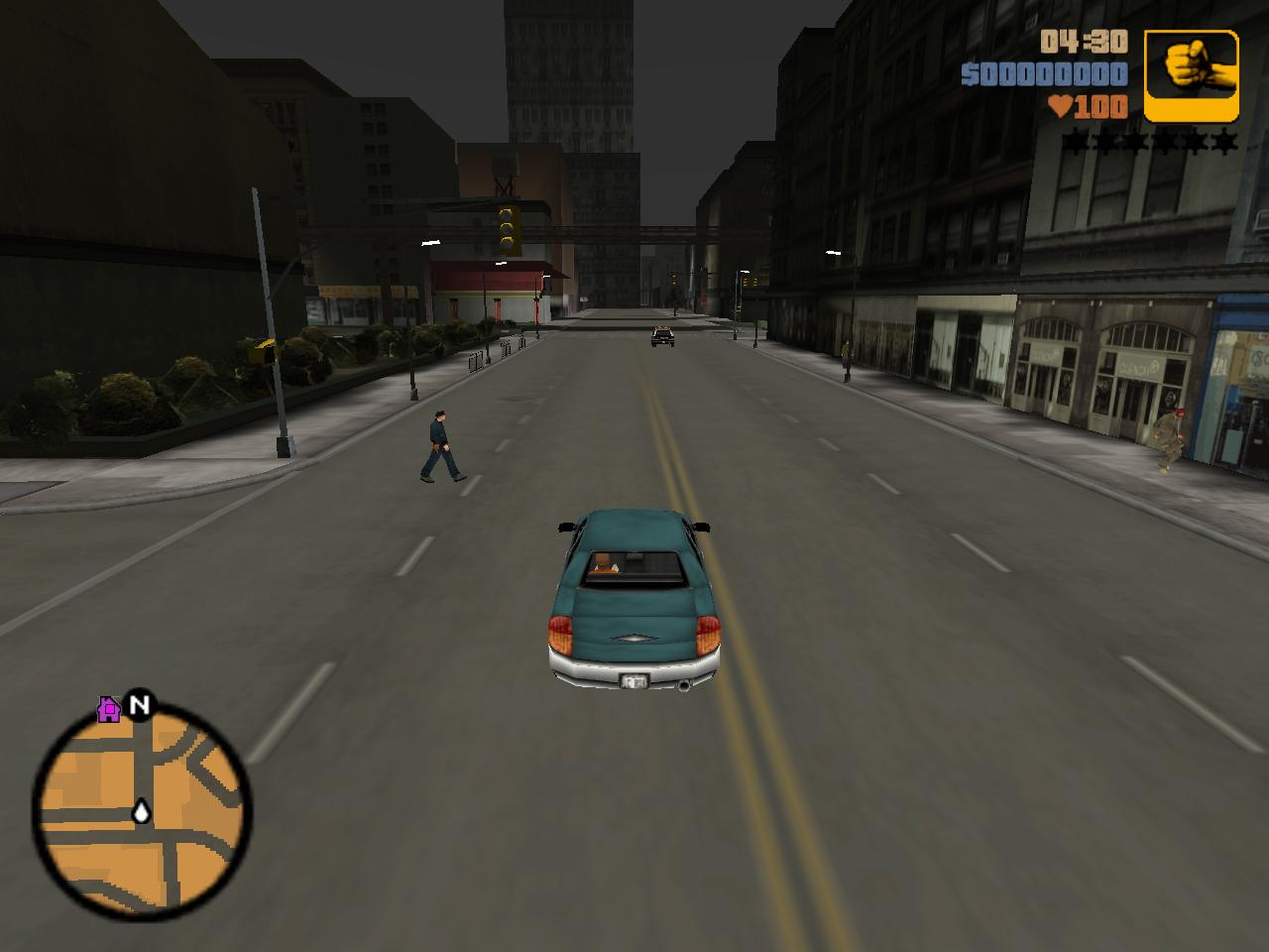 OpenRW: GTA III Driving