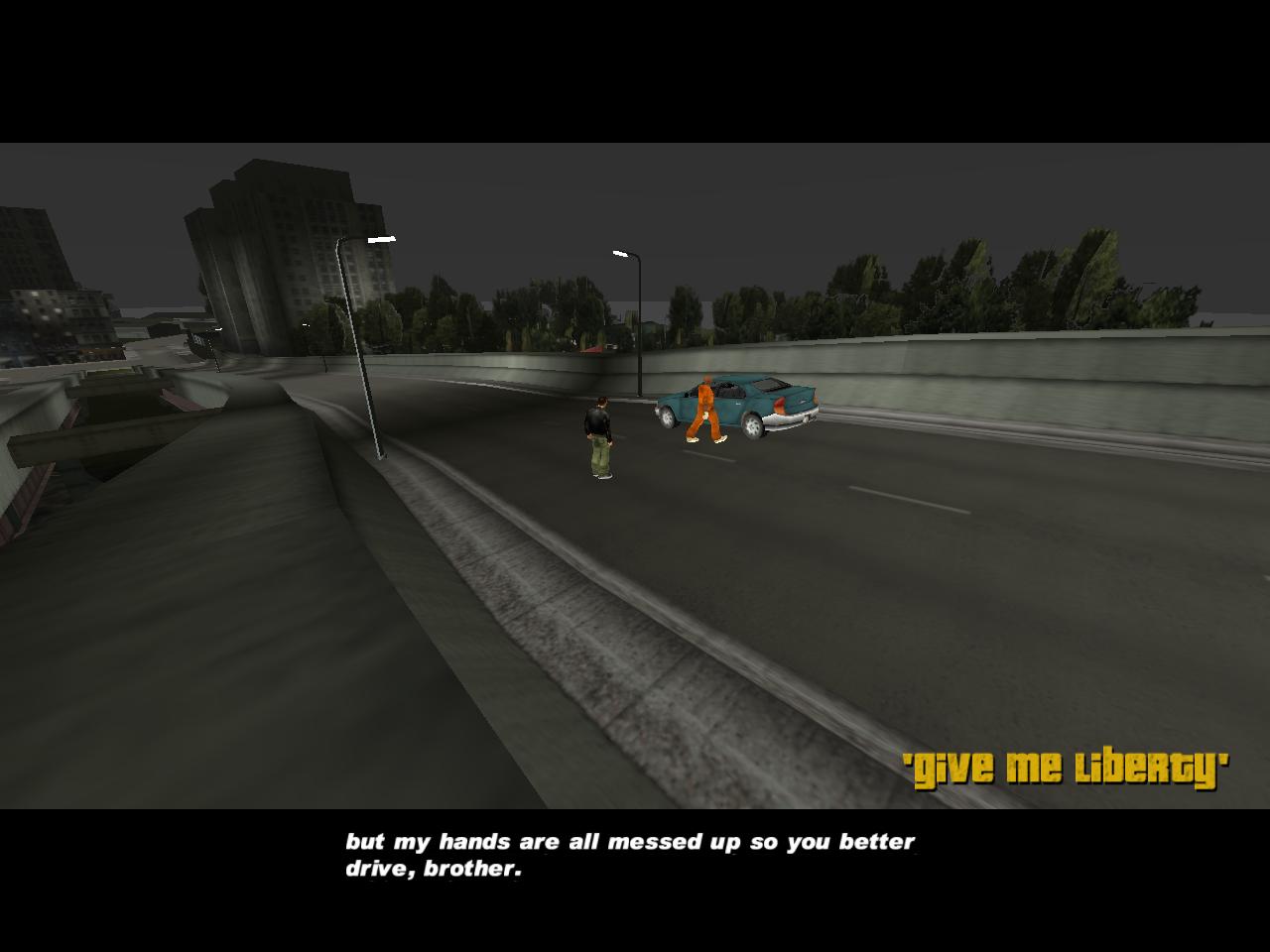 OpenRW: GTA III Opening Cutscene