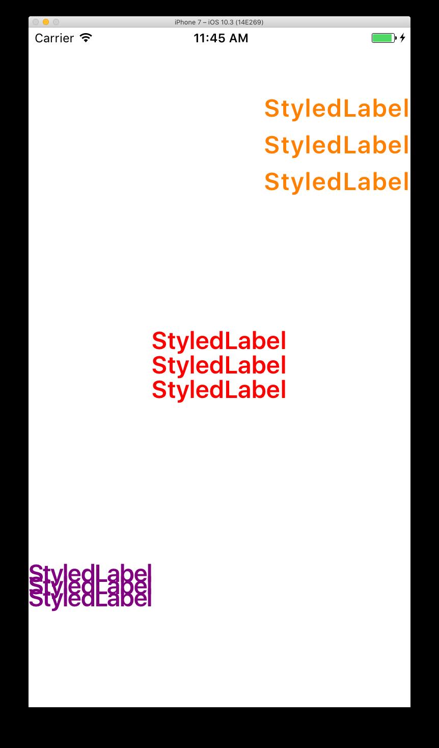 StyledText
