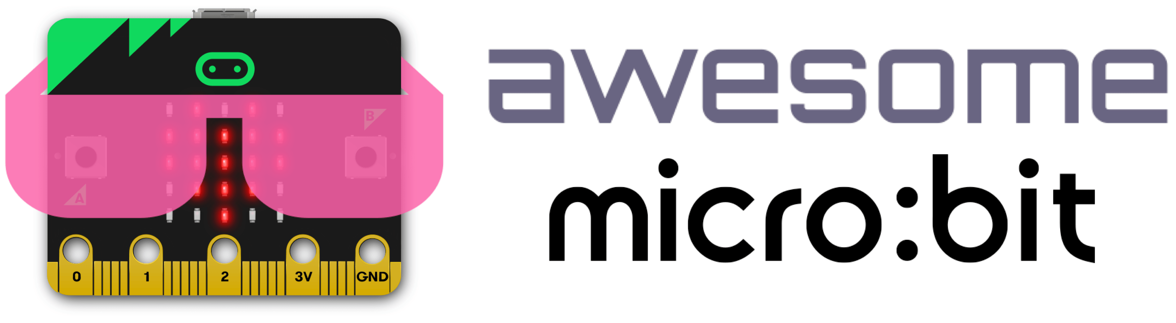 awesome micro:bit logo