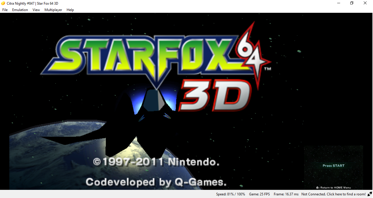 Black/missing textures in Starfox 64 3DS · Issue #4039