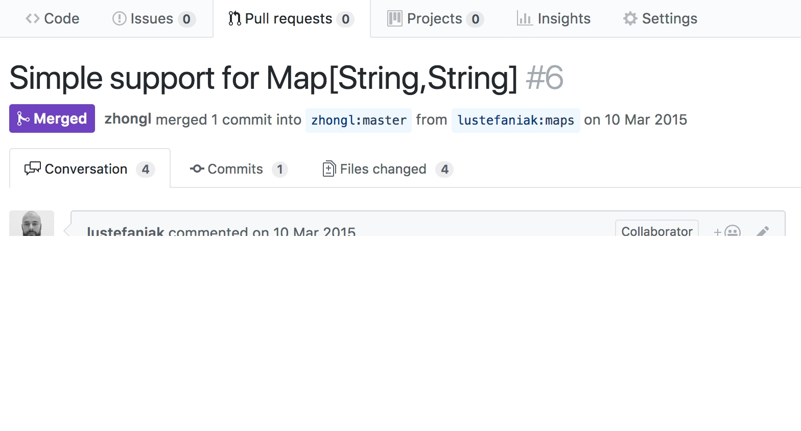 image pull request
