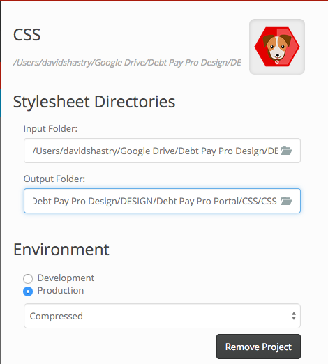 Scout Generating CSS in input and output folders · Issue