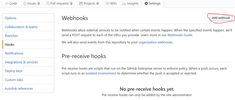 Github Webhooks