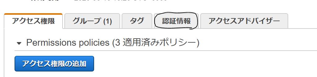 IAM User概要