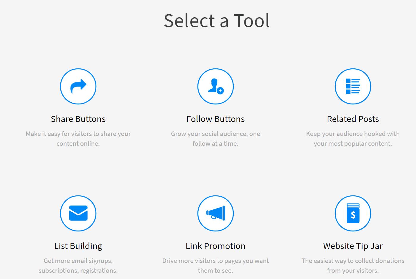 Select a Tool