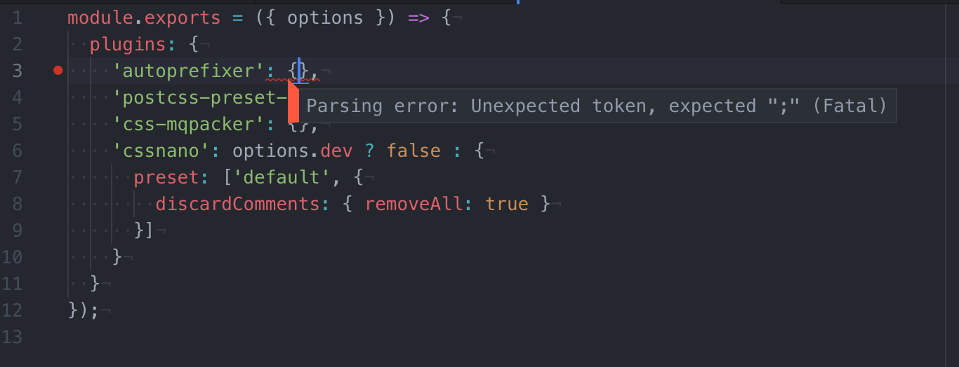 Parsing Error for linting with Prettier and ESLint · Issue