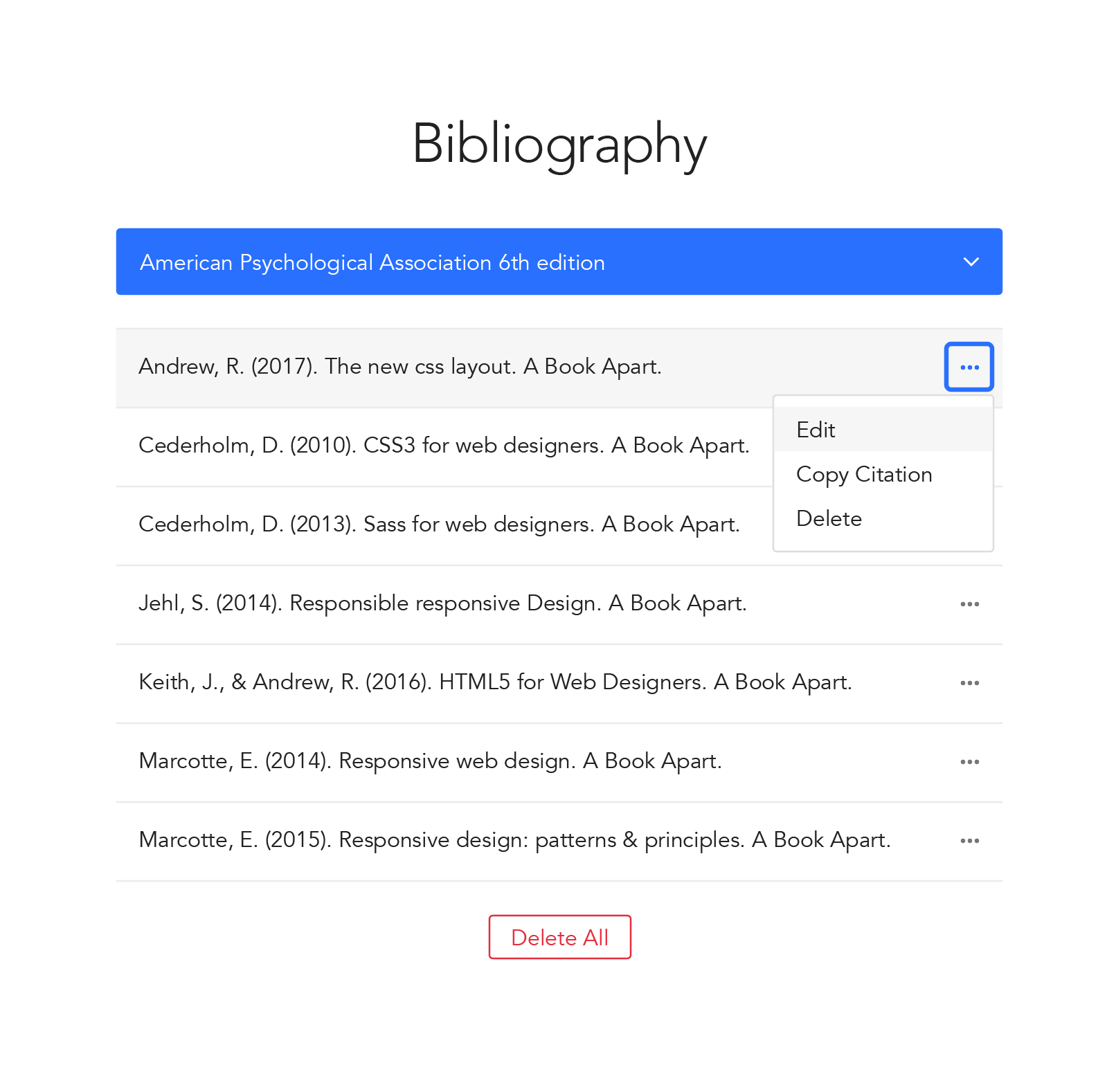 in text citation for book