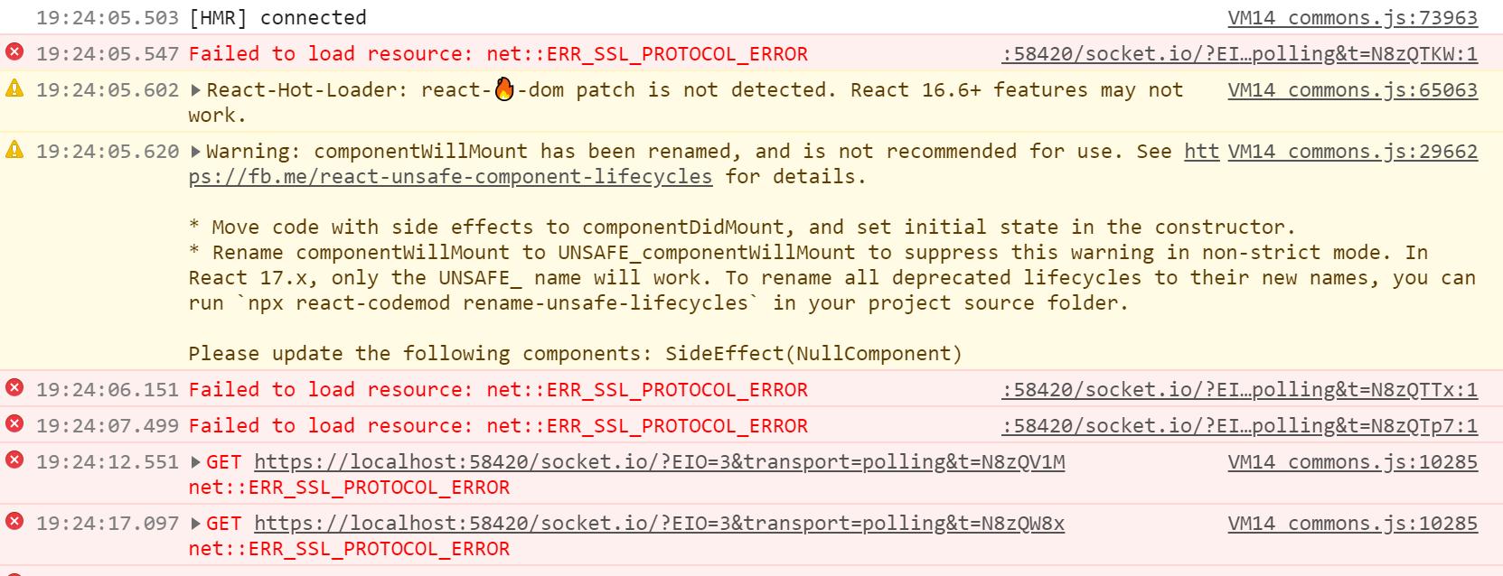 ssl-proto-error