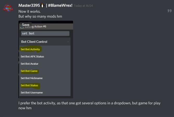 Discord-Bot-Maker-Mods ( DBM Network )