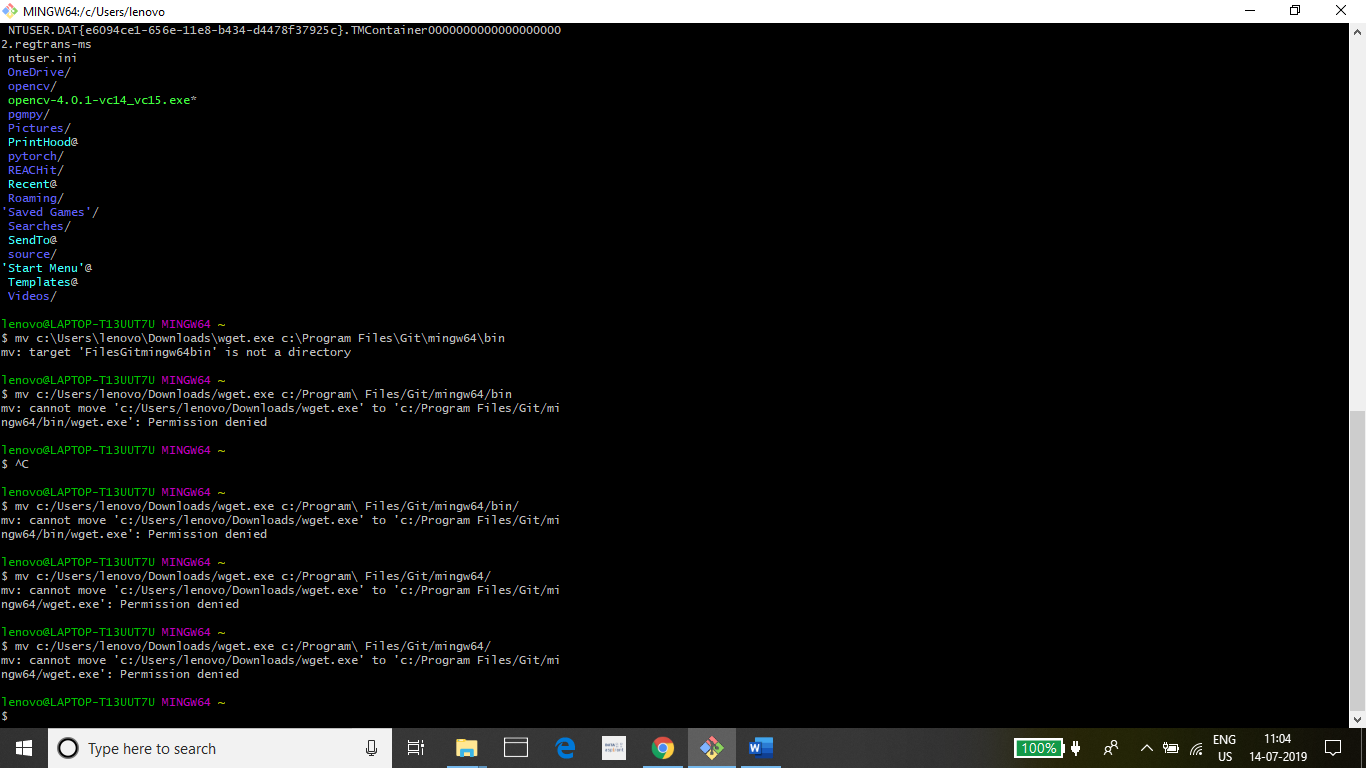 how to add more utilities to git bash for windows, wget