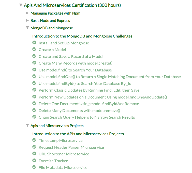 Claim Certification Of Apis And Microservices Projects Issue