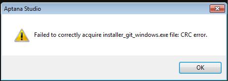 Installation failure of last release (64 bit) with Windows 7