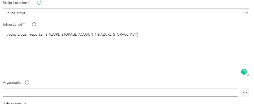 Using pipeline variables in Azure CLI task · Issue #9416