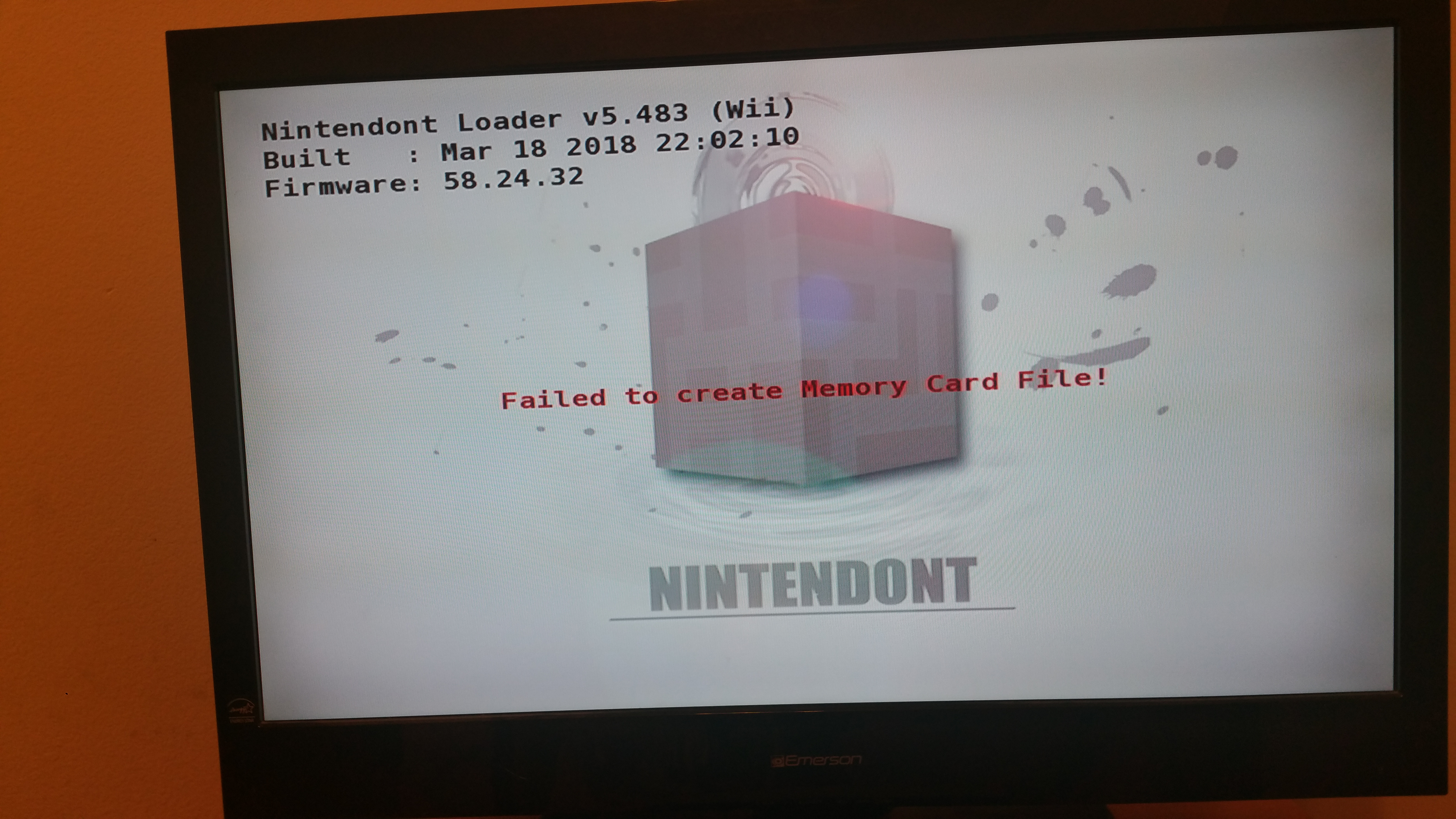 Double Issue: Memory Card Failure and CheckForMultiGameAndRegion
