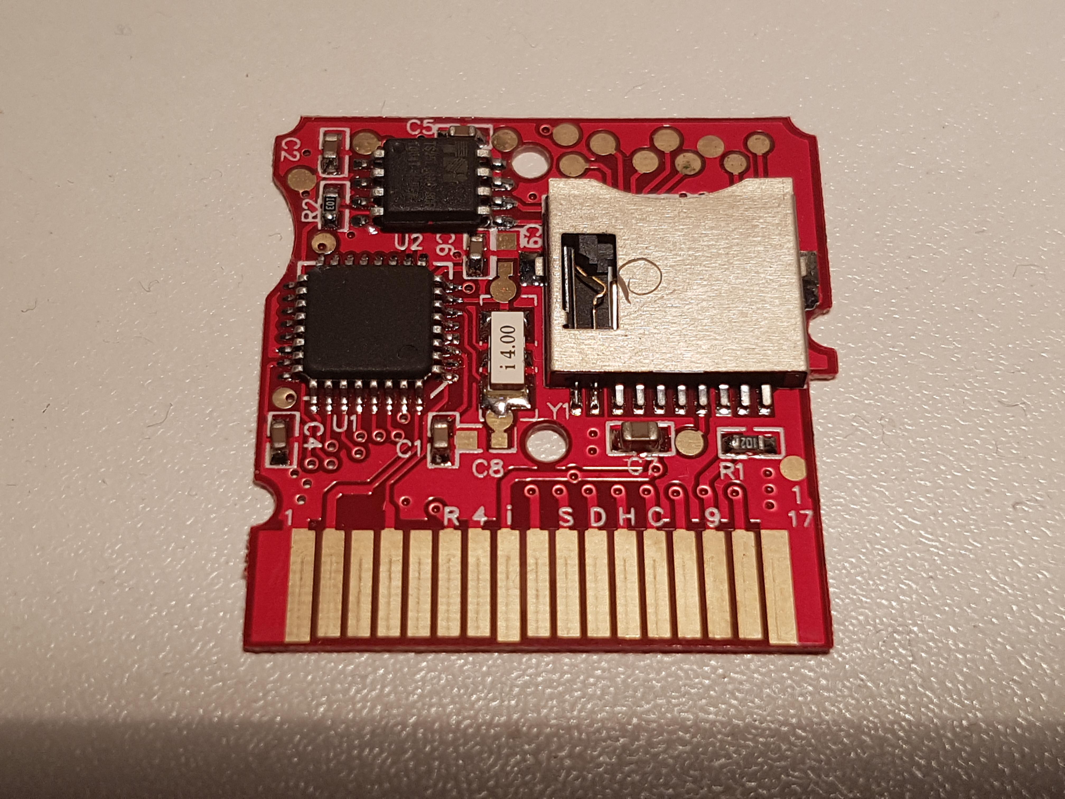 R4i SDHC HappyBox V2 0 card (www r4isdhc com) support