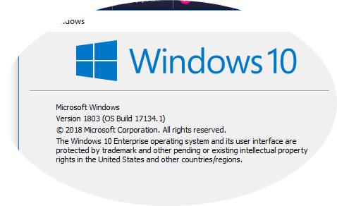 Failed to switch because your Windows version is not