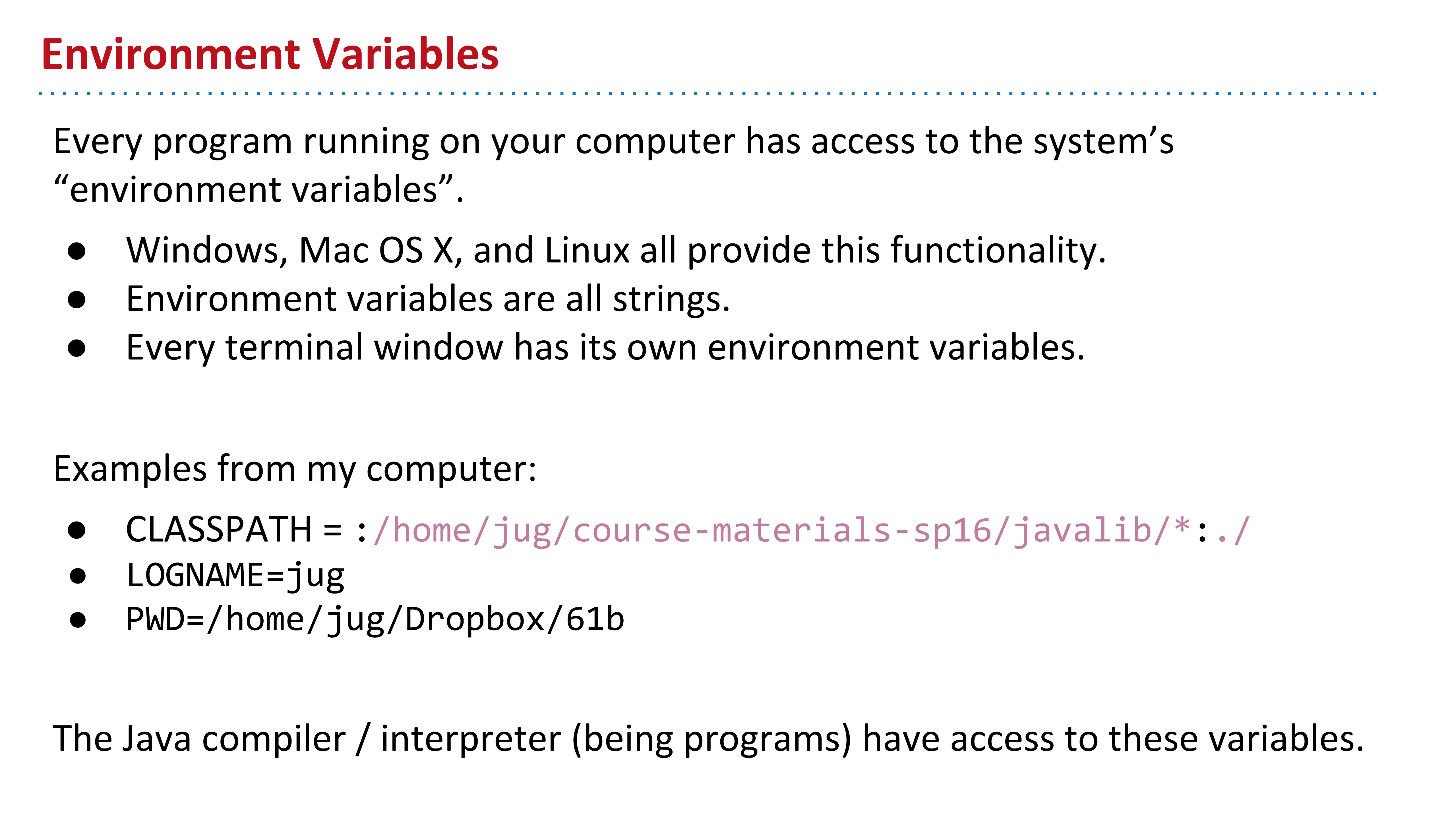 CS61B 2018 Lecture 11 Libraries, Abstract Classes, Packages
