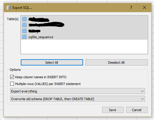 Help Wanted] Database to SQL file blob format  · Issue #1797