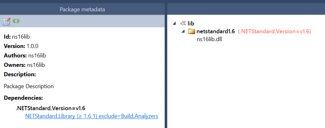 Issues with  NET Standard 2 0 with  NET Framework & NuGet