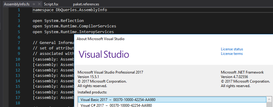Developers - Missing language service features for some