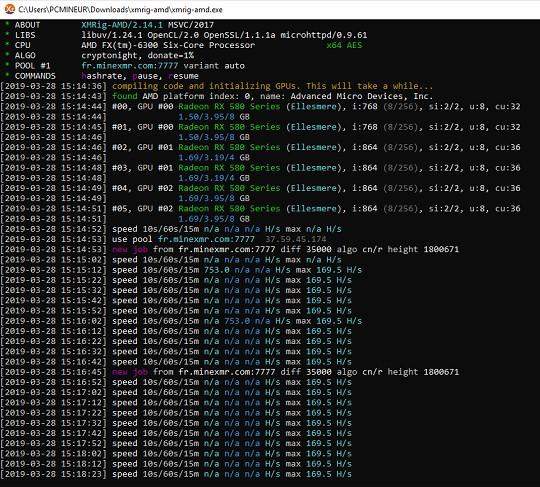 xmrig-amd v2 14 1 crashes with XFX RX-580 · Issue #246